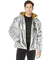 McQ - Metallic Hooded Jacket