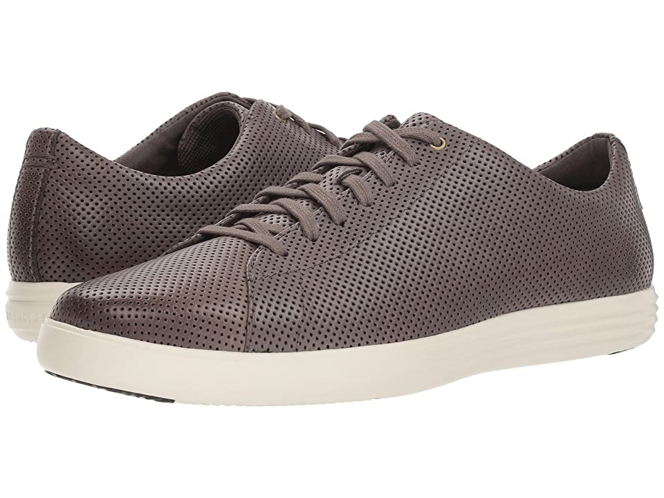 Cole Haan Grand Crosscourt Sneaker (Storm Cloud Perf Leather/Optic White) Men
