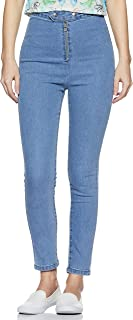 AKA CHIC Women's Skinny Fit Jeans