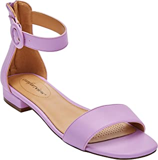 5b0825c27ff Amazon.com  Purple - Slides   Sandals  Clothing
