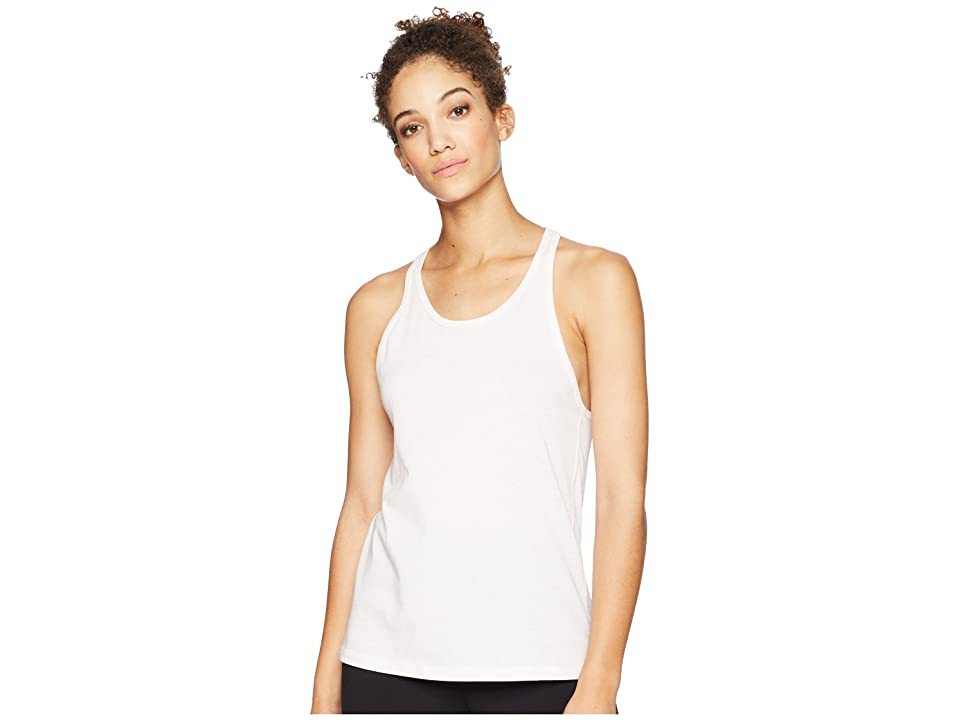 New Balance Heather Tech Tank Top (Himalayan Pink Heather) Women