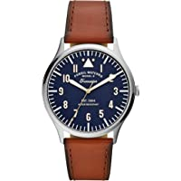 Forrester Three-Hand Luggage Leather Watch