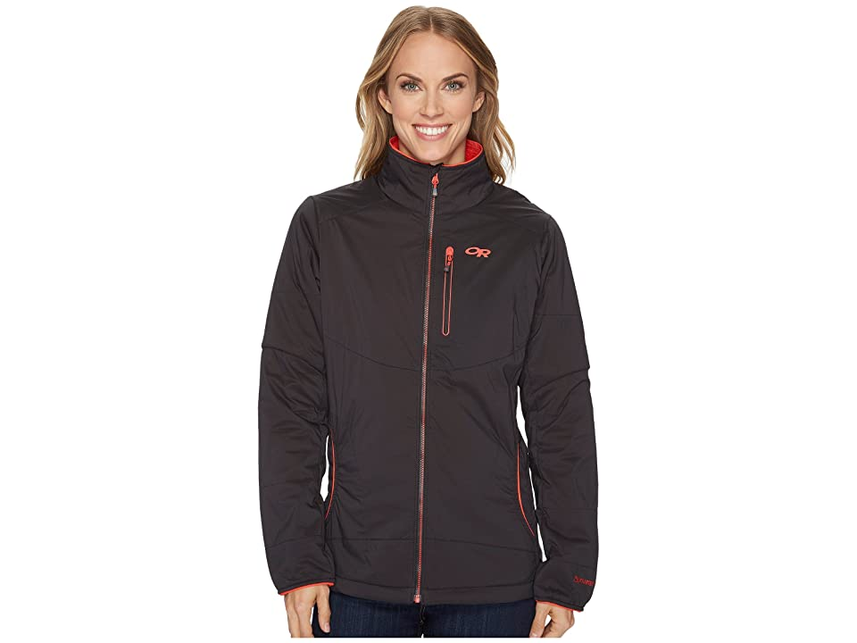 Outdoor Research Ascendant Jacket (Black/Flame) Women