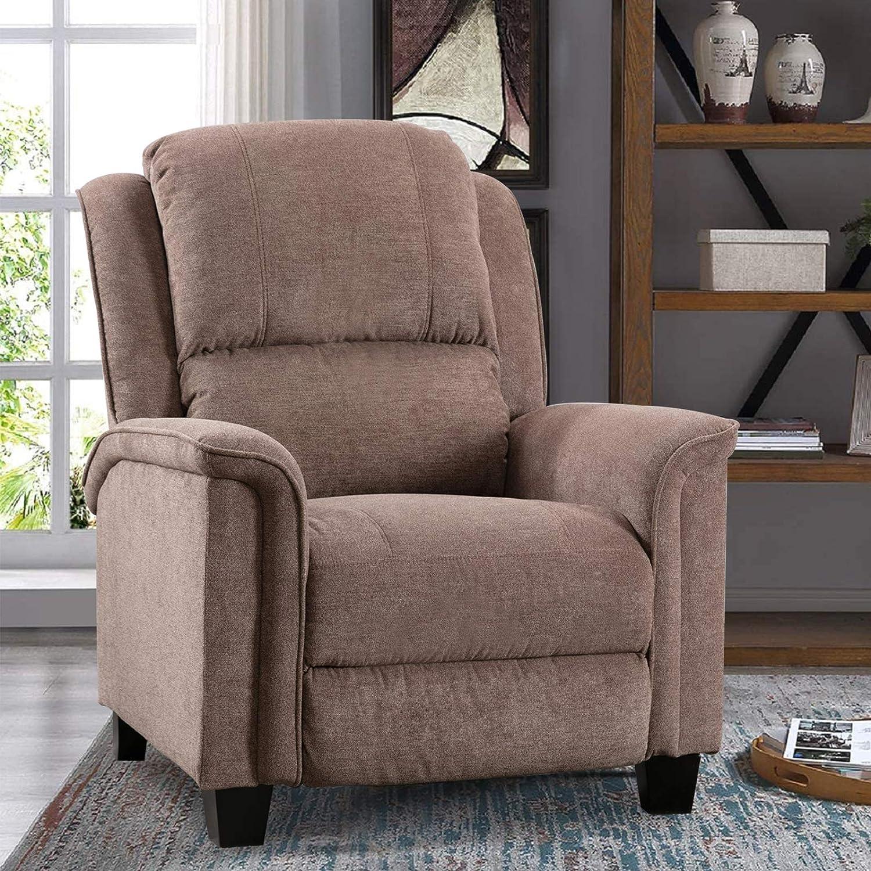 お金を節約 IOMOR Pushback 新着セール Recliner Chairs for Elderly Adjustable Ove Manual