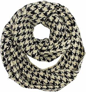 Houndstooth Circle Unisex Infinity Scarf