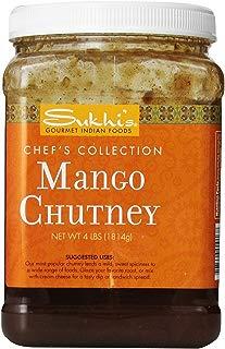Sukhi's Gourmet Indian Foods Chutney, Mango, 4 Pound ( Pack May Vary )