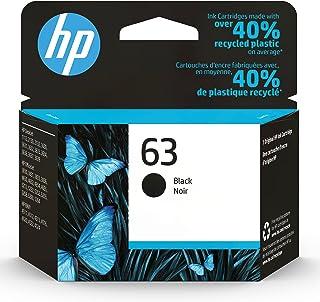 HP 63 | Ink Cartridge | Black | Works with HP DeskJet 1112, 2100 Series, 3600 Series, HP ENVY 4500 Series, HP OfficeJet 38...