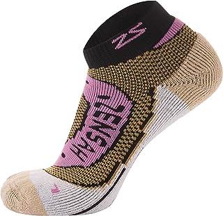 Zensah Copper Socks - Best Copper Running Socks - Comfortable Cushioned Athletic Sport Socks - Merino Wool Socks