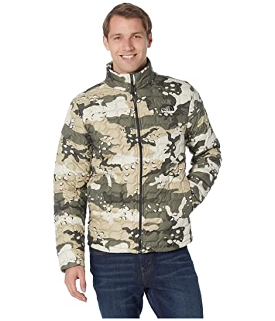 The North Face ThermoBall Jacket (Peyote Beige Woodchip Camp Print) Men
