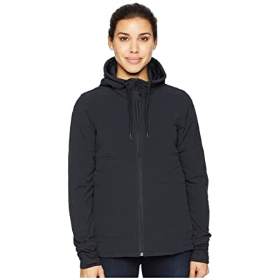 The North Face Mountain Full Zip Sweatshirt (TNF Black/TNF Black) Women