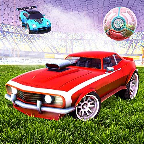 Rocket Car Football League: Soccer Derby Champion