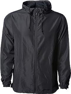 Sponsored Ad - Global Blank Men's Lightweight Windbreaker Winter Jacket Water Resistant Shell