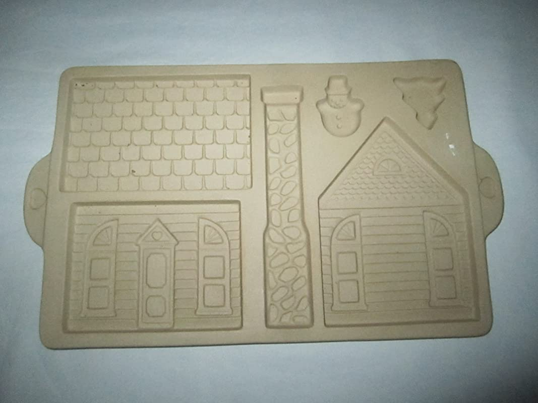 1992 The Pampered Chef GINGERBREAD HOUSE Baking Mold