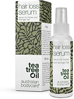 Australian Bodycare Hair Loss Serum 100 ml | Tea Tree Oil Serum för vård vid håravfall och hårförtunning, kvinna och män |...