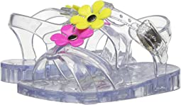 T-Strap Jelly with Flowers (Infant/Toddler)