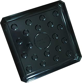 TipPot Square Planter Saucer Drip Tray for Any Planter with 12