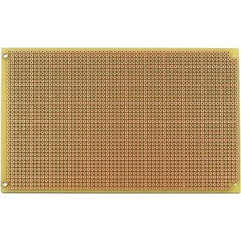 PAD3U PadBoard-3U, Pad per Hole, 2 Sided PCB, Plated Holes, 3.94 x 6.30 in (100 x 160 mm)
