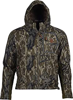 Gamekeeper Mossy Oak Fleece Lined Waterproof Harvester Jacket (Treestand, Medium)