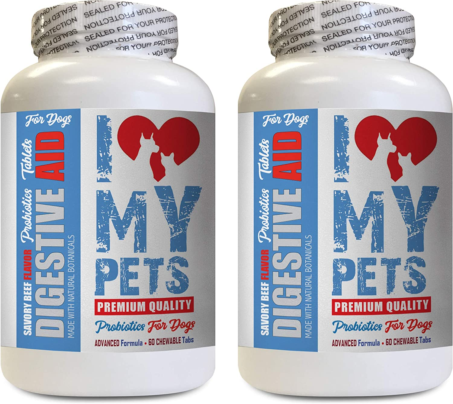 I LOVE Don't miss the campaign MY PETS LLC Digestive Supplement Max 63% OFF for Dog AID -