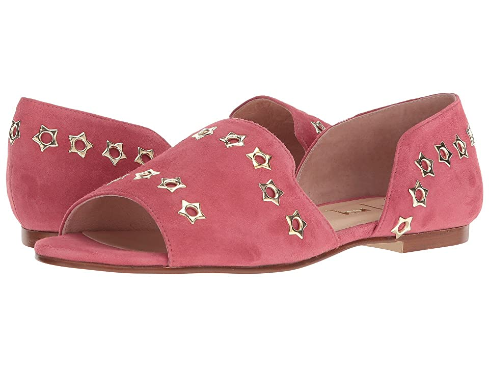 French Sole Whistle 2 (Rose Suede) Women