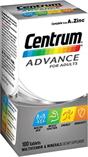Centrum Multivitamins Advance, 100 Count
