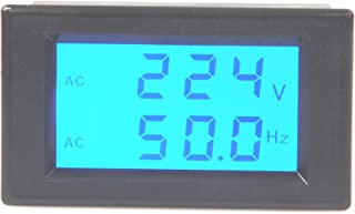 LM YN Digital AC Voltmeter AC80-300V Frequency Counter 45.0-65.0HZ LCD Display Voltage Frequency 2 in 1 Meter Tester