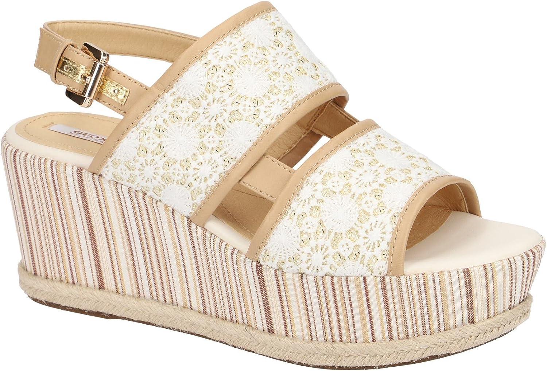 Geox Damen Sandale - Sandaletten Sandaletten SAKELY - damen sakely b  erschwinglicher