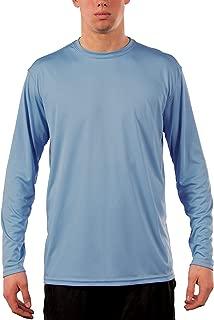 Men's UPF 50+ UV Sun Protection Performance Long Sleeve T-Shirt