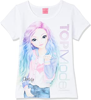 Disney Girl's Top Model T-Shirt