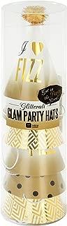 Talking Tables Glitterati Mini Party Hats (6 Pack), Multicolor