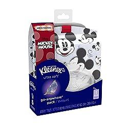 Kleenex Ultra Soft Go Anywhere Pack Facial Tissues, 30 Tissues per Pack