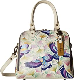 Anuschka Handbags - 606 Zip Around Convertible Satchel
