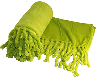 Home Soft Things Rope Braided Throw Blanket, 50 by 60