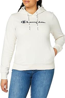 Champion Sweat-Shirt àCapuche Classic C-Logo Allover, Femme