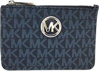 Michael Kors Fulton Small Top Zip ID Coinpouch with key Chain