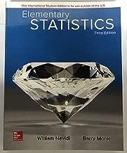 Elementary Statistics Monk, Barry