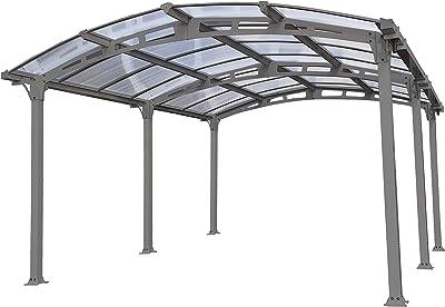 Gazebo Per Auto In Alluminio.Allseasonsgazebos Tenda Gazebo 3 M X 4 5 M Impermeabile Con