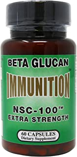 Nutritional Supply Corp Immunition NSC 100 Beta Glucan Extra Strength - 10 mg - 60 Capsules