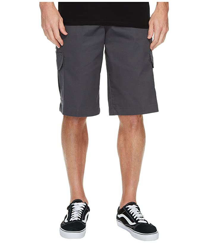 Dickies 13 Relaxed Fit Mechanical Stretch Cargo Shorts (Charcoal) Men