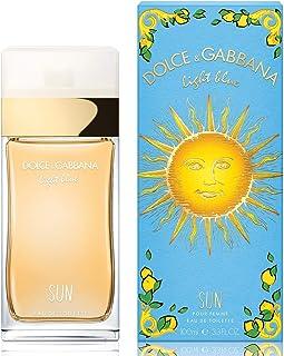 Dolce & Gabbana Light Blue Sun Eau De Toilette Spray for Women, 3.4 Ounce