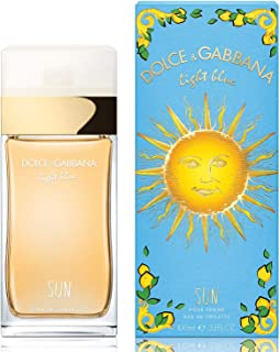 Light Blue Sun by Dolce&Gabbana Eau De Toilette Spray 3.3 oz / 100 ml Women