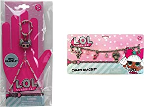 L.O.L. Surprise! Charm Bracelet & Beaded Bracelet Ring Jewelry Set