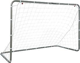 Amazon Basics Soccer Goal Frame With Net - 6 x 3 x 4 Foot, Steel Frame