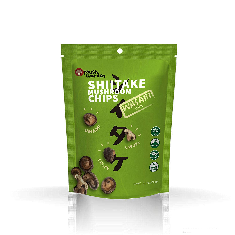 Ranking integrated 1st place MushGarden Sale SALE% OFF Shiitake Mushroom Wasabi Chips