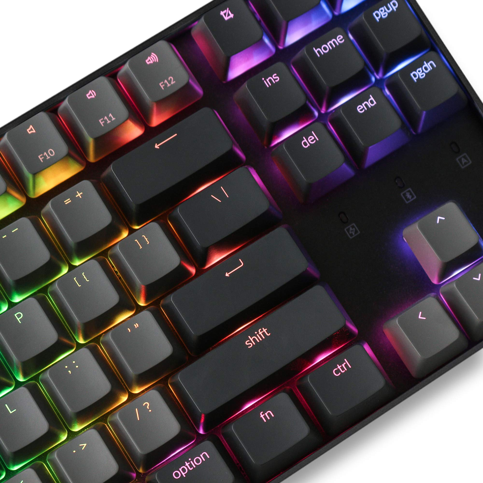 Keychron K8 Tenkeyless Wireless Mechanical Keyboard for Mac, Hot-swappable RGB Backlight, Bluetooth, Multitasking, Type-C Wired Gaming Keyboard for Windows with Gateron Brown Switch