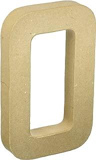 Craft Ped Paper CPL1006251-O.K Mache Letter O Kraft, 8