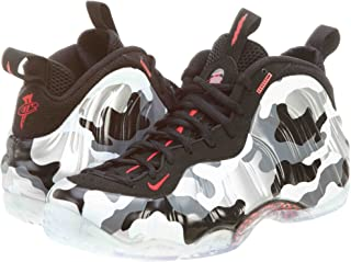 Nike Mens Air Foamposite One PRM Fighter Jet Synthetic Basketball Shoes