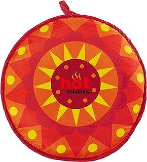 Tortillero de 30 cm, pesoligero con aislamiento, para pan y tortillas mexicanas, de Hot SolutionsMeter en el microondas durante 45segundos, el pan se mantiene caliente hasta 1hora.