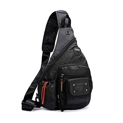 43f08dc55b DDDH 13.3-Inch Sling Bag Riding Hiking Bag Single Shoulder Backpack for Men  Women(