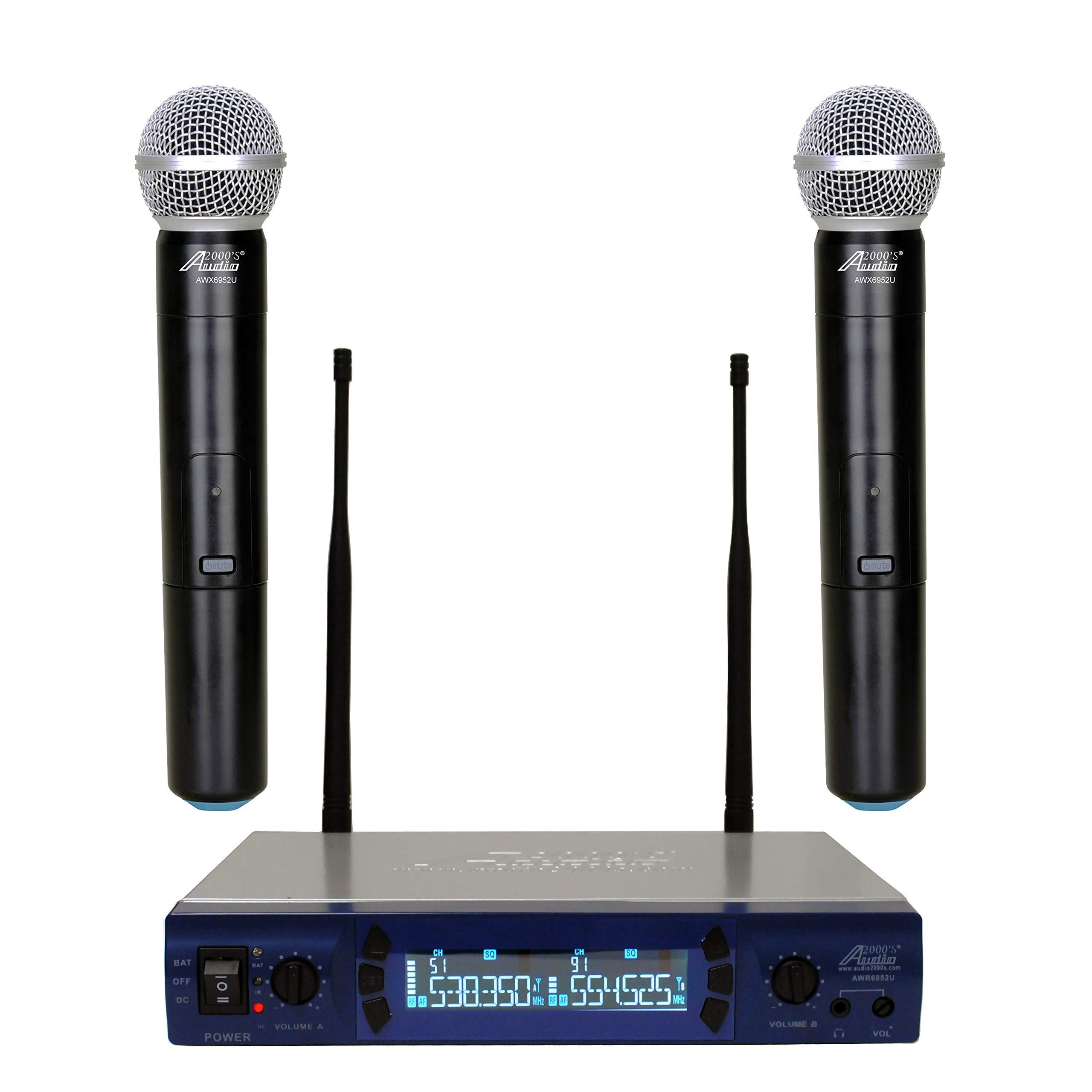 Audio AWM 6952U Handheld Frequencies Microphone